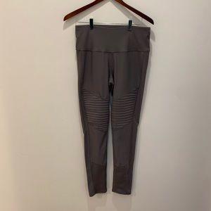 Apana Gray Workout Pants Size Medium